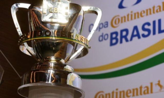 CBF define os confrontos da primeira fase da Copa do Brasil