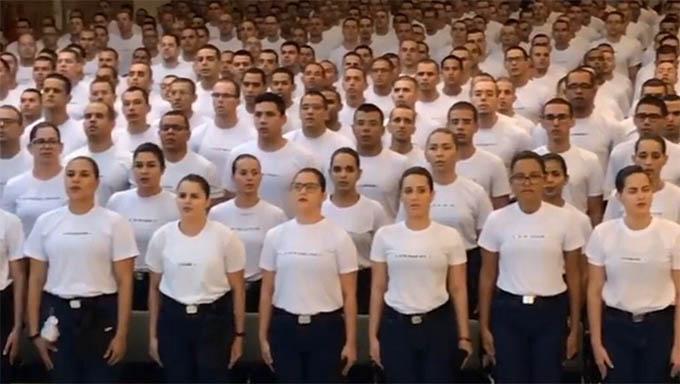 RN tem aula inaugural para novos 1.000 policiais militares