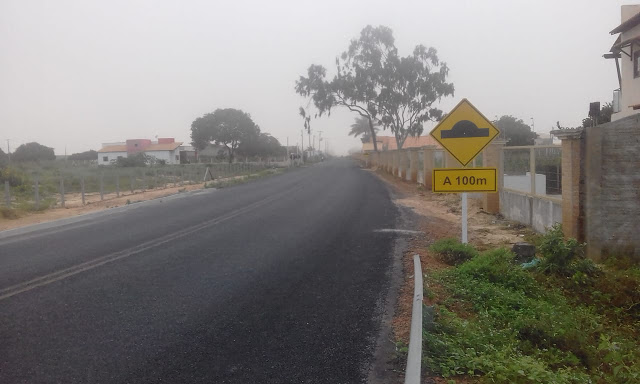 """Local do acidente de transito que causou morte de """"Gugu"""" na RN 087 estava sinalizado"""