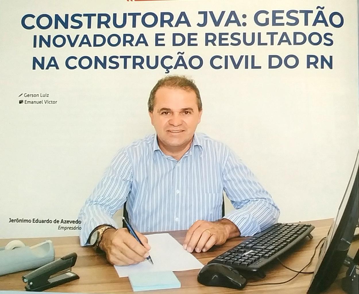 SUA CONSTRUÇÃO EM BOAS MÃOS CONSTRUTORA JVA