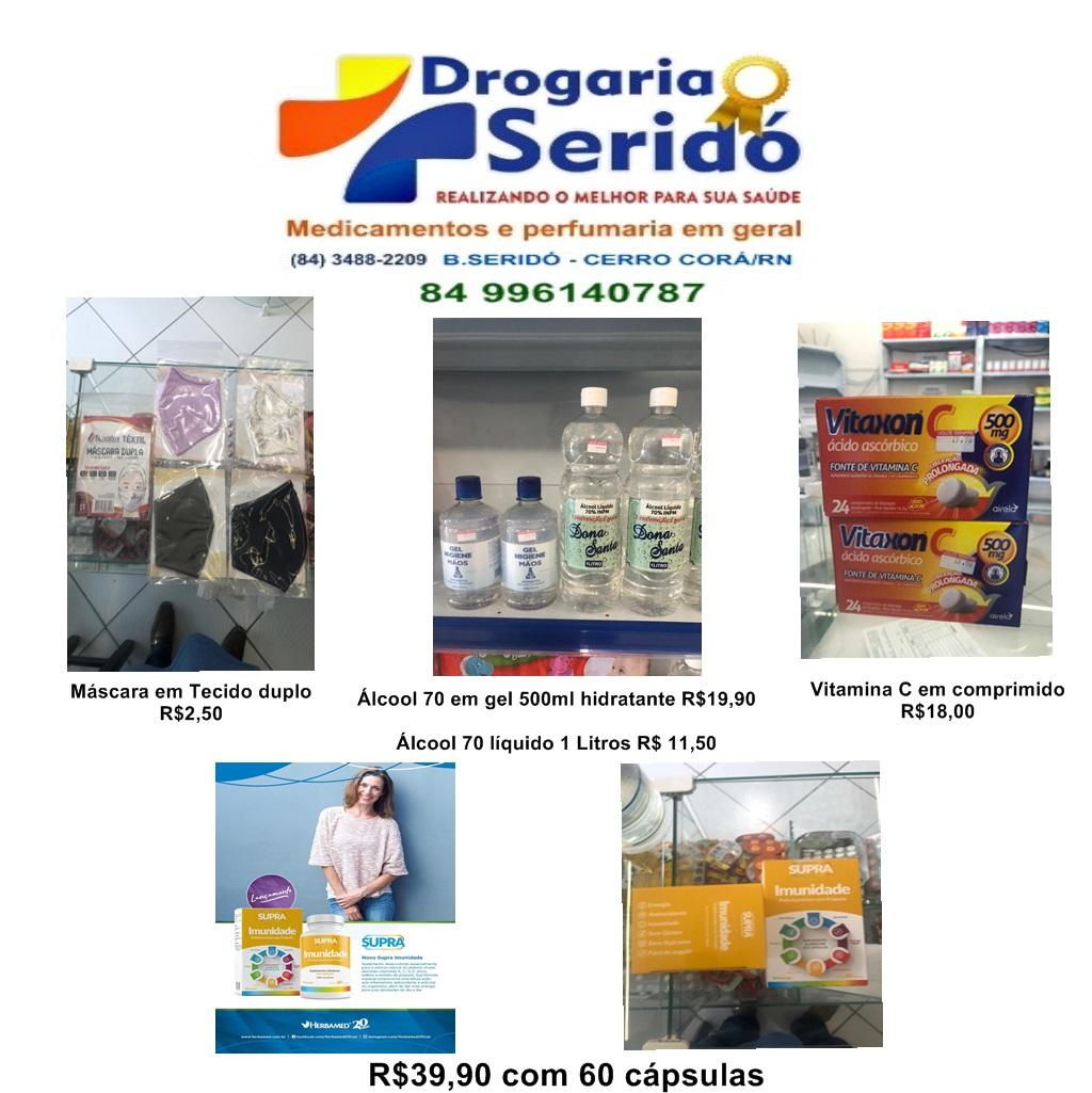 DROGARIA SERIDÓ MEDICAMENTOS E PERFUMARIA
