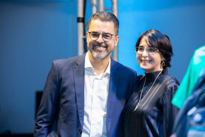 Prof. Dr. Francisco Irochima e Profa. Dra. Aparecida Maciel são os idealizadores da pesquisa