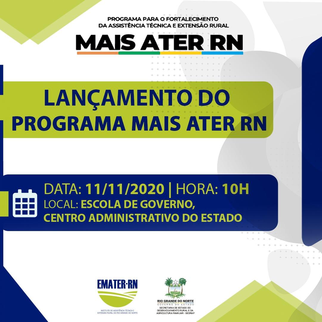 Governo Fátima lança programa de Assistência Técnica e Extensão Rural