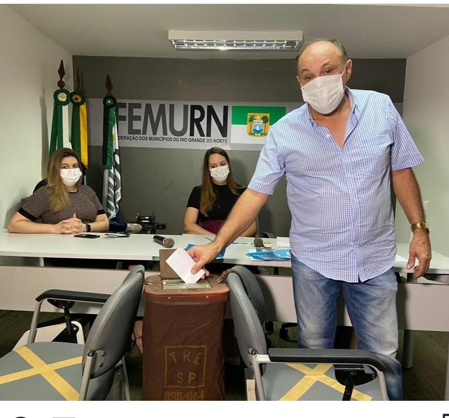 Prefeito de Cerro Corá participa da eleição na Femurn