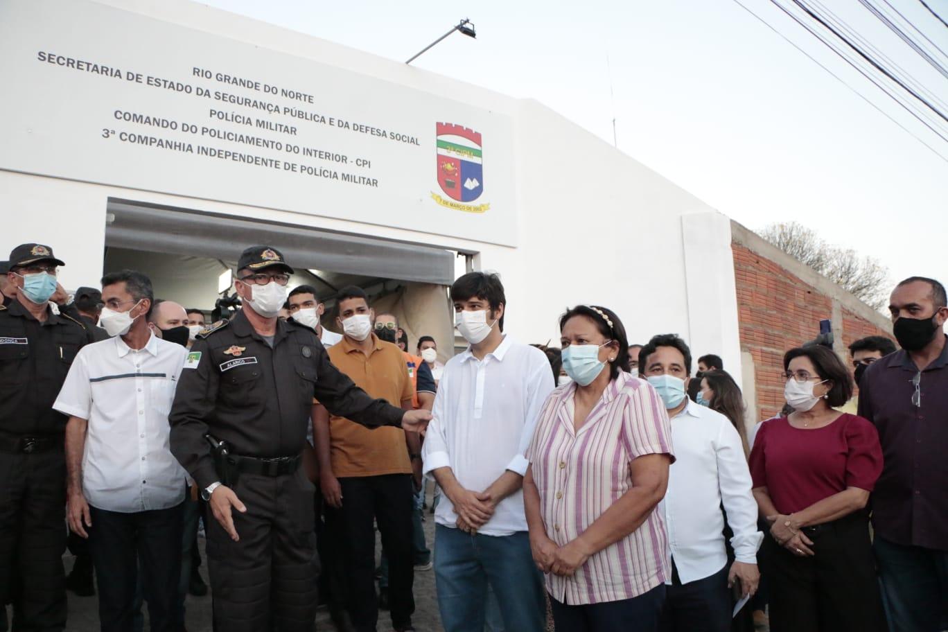 Governo do RN ativa 13º Batalhão de Polícia Militar em Currais Novos