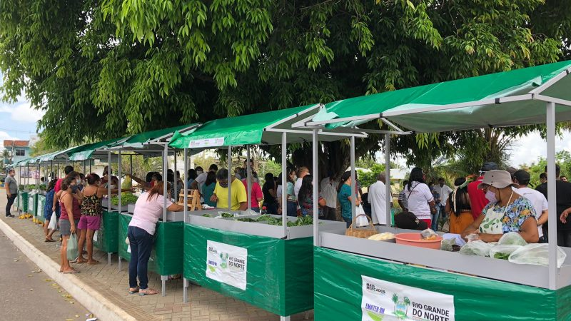 Governo do RN leva Feira da Agricultura Familiar para Macaíba